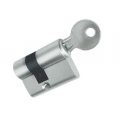 "Цилиндр ""ключ-ключ"" HAG ID - 7 BN-SS (нержавеющая сталь)"