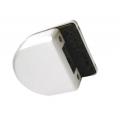 Ответная часть для замка HAG ID-500RC/RB на стекло HAG ID-500SBL ANB (анодированный алюминий)