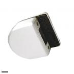 Ответная часть для замка HAG ID-500RC/RB на стекло HAG ID-500SBL AB (античная бронза)