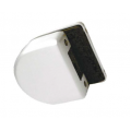 Ответная часть для замка HAG ID-500RC/RB на стекло HAG ID-500SBL BN (черный никель)