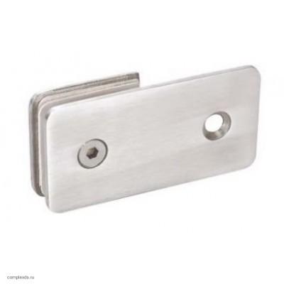 """Коннектор """"стена-стекло"""" HAG - 635 SSS (матовая нержавеющая сталь)"""