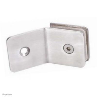 """Коннектор """"стена-стекло"""" HAG - 637 PSS (полированная нержавеющая сталь)"""