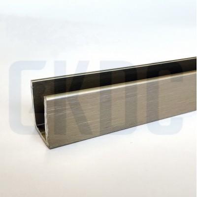 Профиль П-образный Bohle длина 3650 мм (19х15 мм) для стекла 10 мм