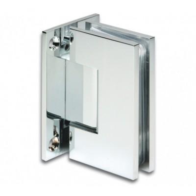Петля д\душевых кабин Bilbao 90° стекло/стена T-образная