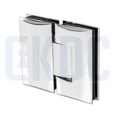 Петля для стеклянных душевых кабин Bohle Art 180° стекло/стекло без регулировки