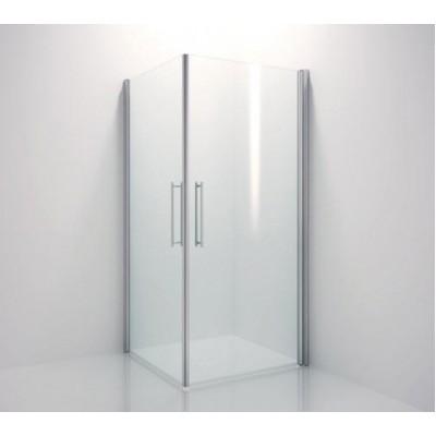 Сплошная петля для душевых кабин серии AQUA для стекла 8мм L=2200мм стекло-стена цвет алюминий EV1