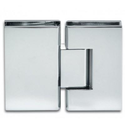 Петля д\душевых кабин Bilbao 180° стекло/стекло без регулировки для стекла
