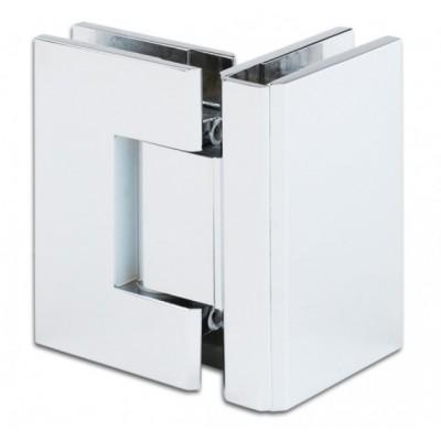 Петля д\душевых кабин Bilbao / 90° / стекло/стекло без регулировки