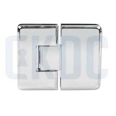 Петля для душевых кабин Barcelona стекло-стекло 180° с регулировкой 0 положения