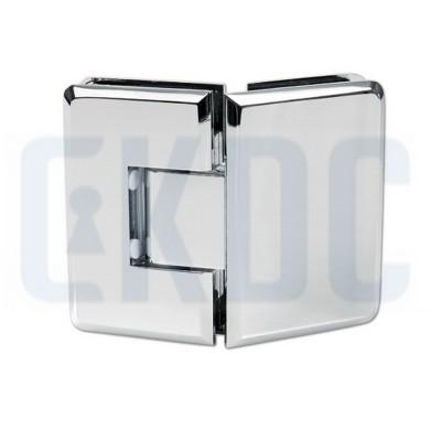 Петля для душевых кабин Barcelona стекло-стекло 135° с регулировкой 0 положения