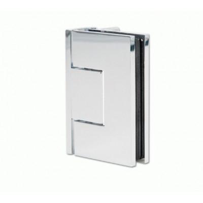 Петля для душевых кабин Bilbao 90° стекло-стена с односторонним креплением без регулировки