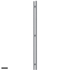 Dorma Puxador Ручка-скоба двухсторонняя 1240 мм