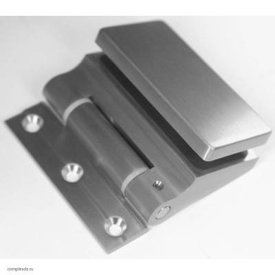 Петля HAG ID-509D с доводчиком BN-SS - матовая нержавеющая сталь