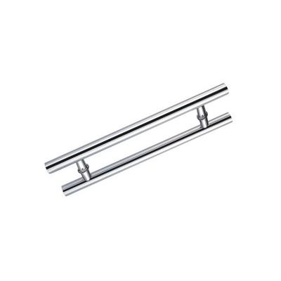 Ручка для стеклянных дверей HAG V-01 L-450мм