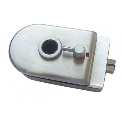 Замок с индикатором магнитный HAG ID-650SB ANB —анодированный алюминий