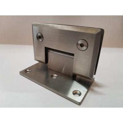 Петля стена-стекло с односторонним креплением SHT-C3 SSS (нержавеющая сталь)