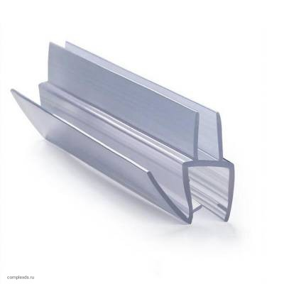 Профиль уплотнительный PS-7-10 для стекла 10 мм с водоотливом