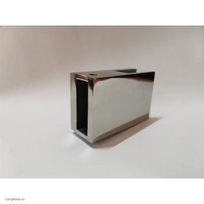 Крепление штанга-стекло 180 граусов TG-30-180 для трека 30х10