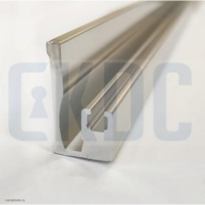 Боковой профиль на стену S-100 для магнитного уплотнителя