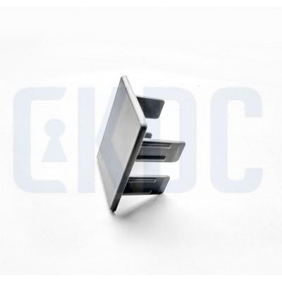 Торцевая заглушка для зажимного профиля 44 мм (пластик)