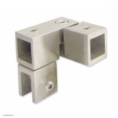 Угловой соединительный элемент с возможностью регулировки Bohle square 15x15