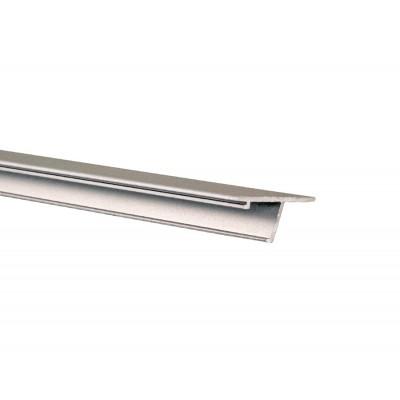 Декоративная накладка (без анод.) для стекла 16 мм T-102 N/16