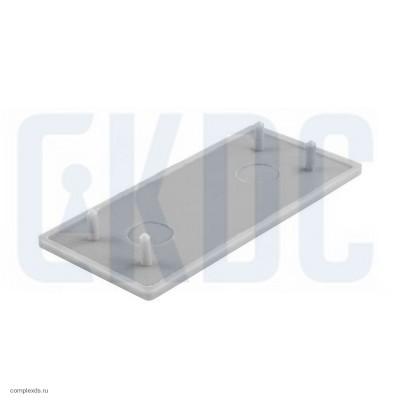 Торцевая заглушка для зажимного профиля Пластик T-413T 100 mm