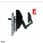 Антипаниковое устройство TESA 1970 на активное полотно, врезная модель 1970. Одностворчатые двери.