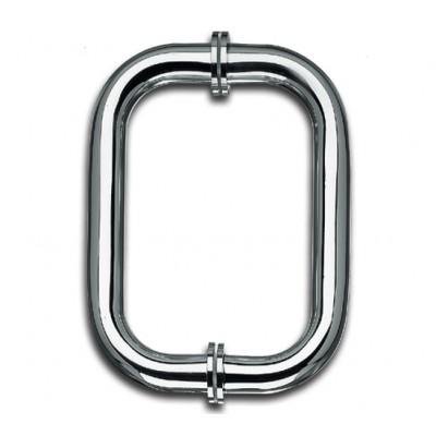 Ручка дверная скоба П-образная круглая Bohle L=171мм