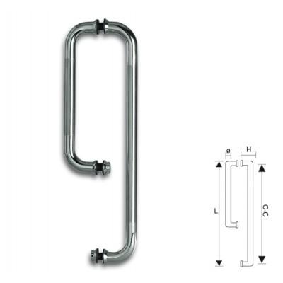 Ручка Bohle (Боле) для душевой кабины с полотенцедержателем (полотенцесушителем)