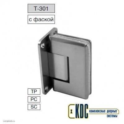 Петля стена - стекло двустороннее крепление Т-301 PC