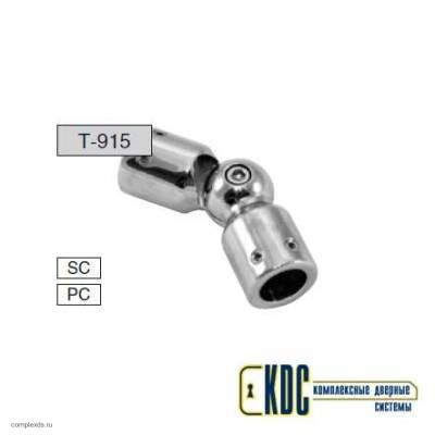 Соединитель прямой труба - труба произвольный угол Т-915 PC